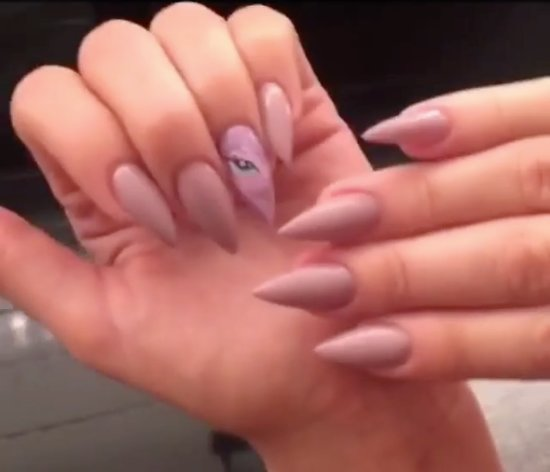 Khloe Kardashian My Little Pony Nail Art