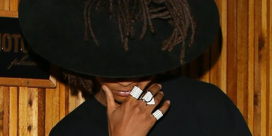 Jaden Smith's Cutout Hat Brings New Meaning To 'Whip My Hair'