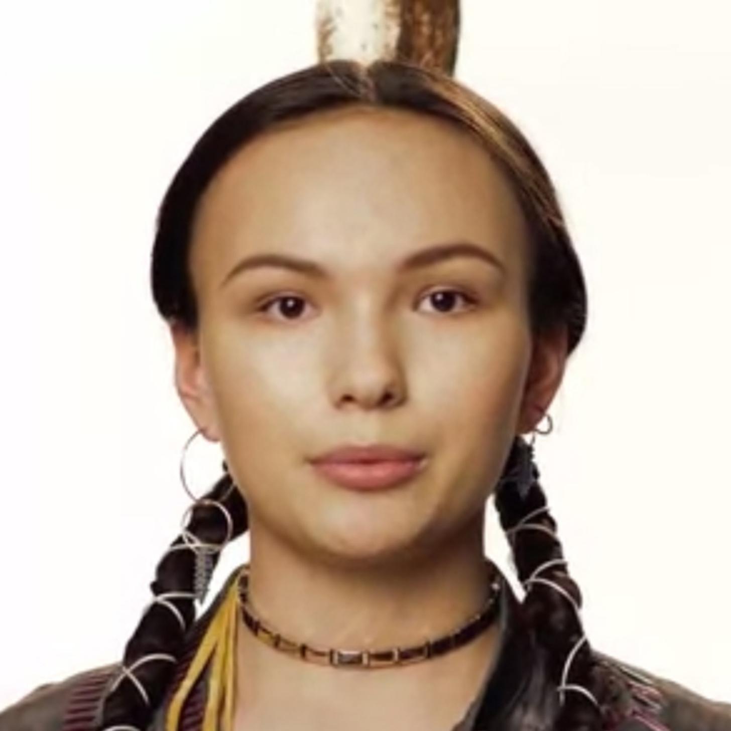 One teen native american porn LOVE KISS,LICK