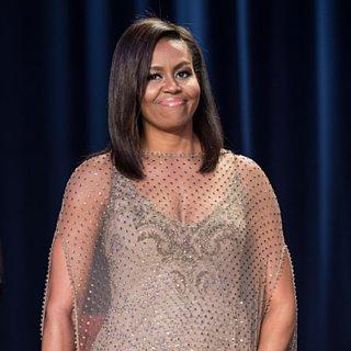 Michelle Obama Dress White House Correspondents Dinner 2016