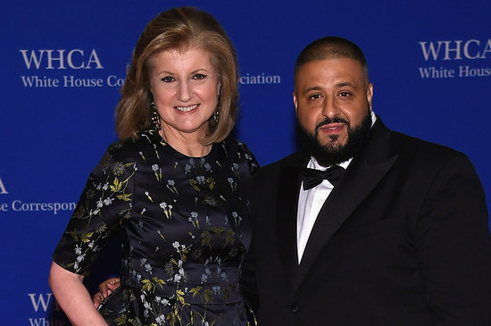 DJ Khaled Was Arianna Huffington's Date To White House Correspondents' Dinner