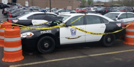 Cops Protect Dove Nesting On Patrol Car In Sweetest Possible Way