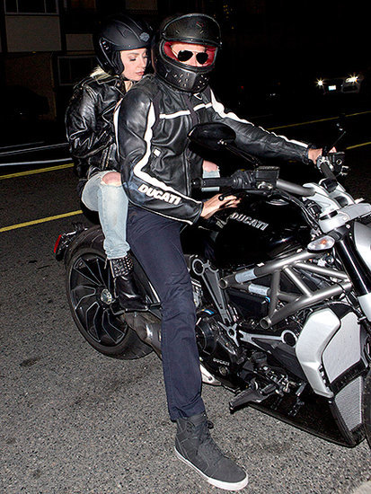 Bradley Cooper Gives Lady Gaga a Lift to Dinner - on the Back of His Motorcyle
