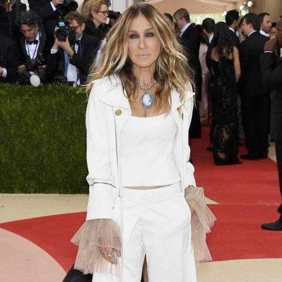 Sarah Jessica Parker Wearing Monse at Met Gala 2016
