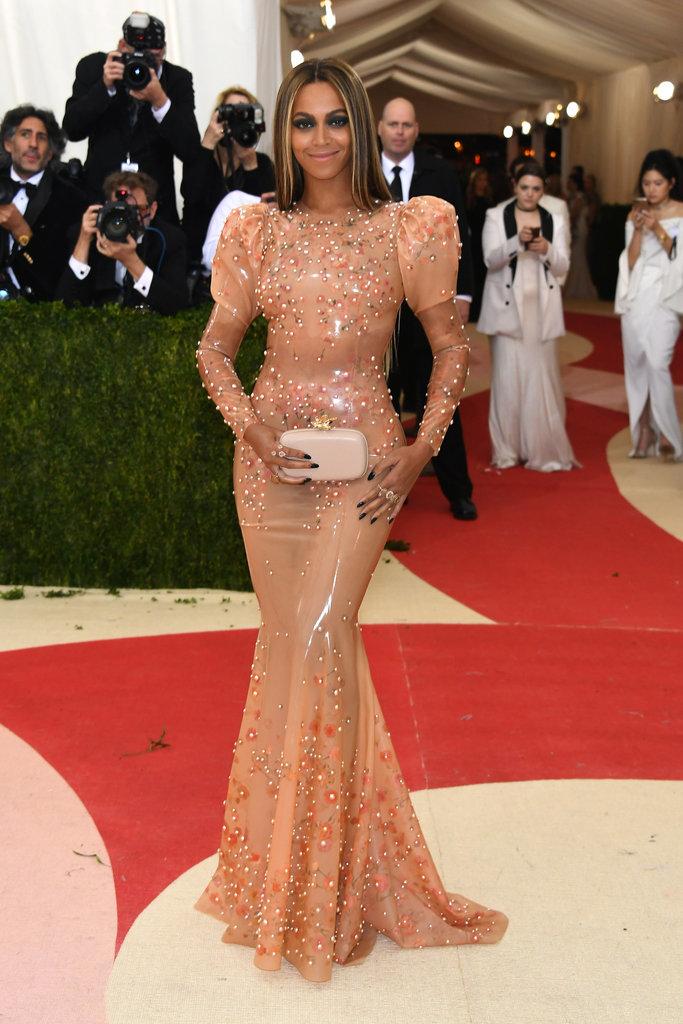 Beyonce naked dress