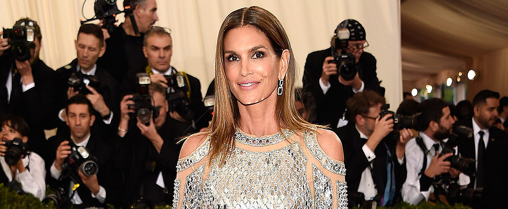 Warning: Cindy Crawford's Met Gala Appearance May Cause Temporary Blindness