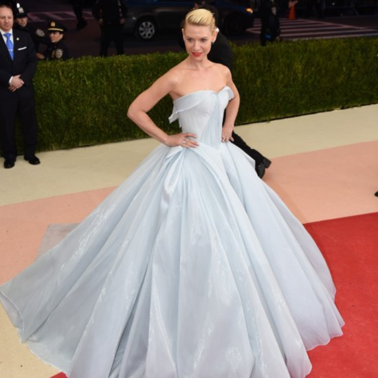 Claire Danes in a Light-Up Dress at Met Gala 2016