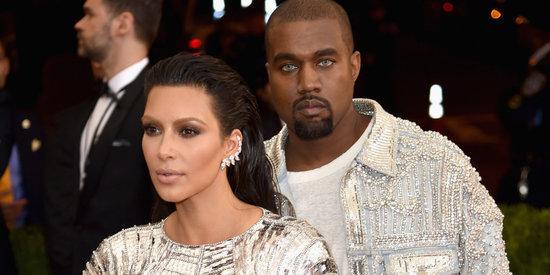 Kim Kardashian And Kanye West Are Matching At The Met Gala