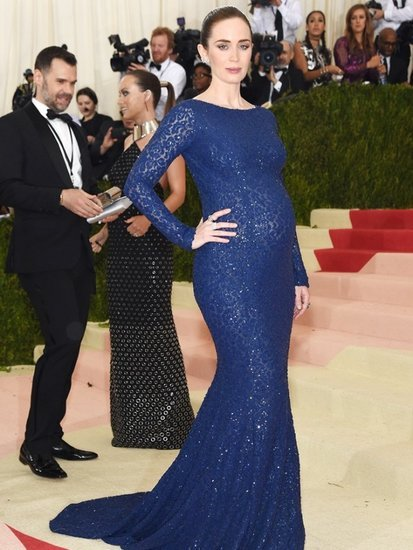 Emily Blunt's Stylist Gives Us the Inside Scoop on Her Met Ball Look