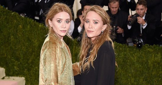 Mary-Kate, Ashley Olsen Basically Wore Their Everyday Clothes to the Met Gala 2016