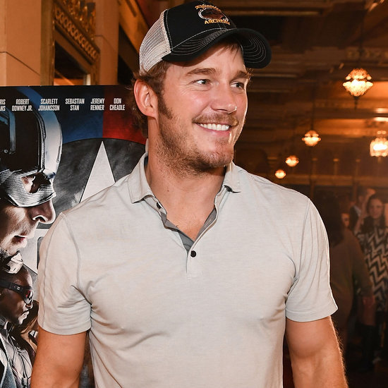 Chris Pratt at the Captain America Screening May 2016