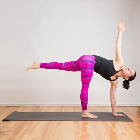 How to Do Rotated Half Moon Pose