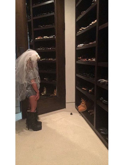 Dress Up Time! Kourtney Kardashian's Daughter Rocks a Bridal Veil and Stiletto Booties in Sweet Snaps