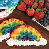 These Rainbow Waffles Taste Like Happiness