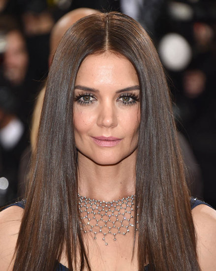 Katie Holmes's dead eyes at the 2016 MET Gala