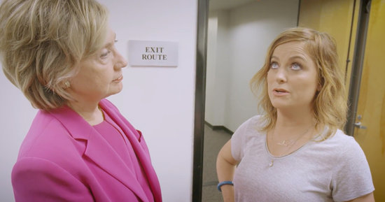 Hillary Clinton Has Amy Poehler in Her Corner