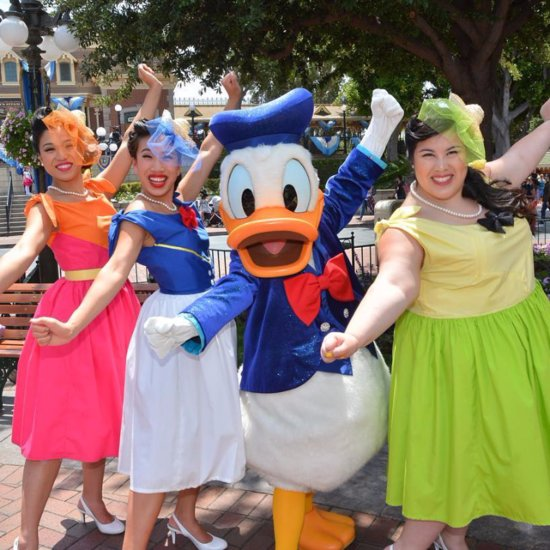Disneybounding at Dapper Day 2016