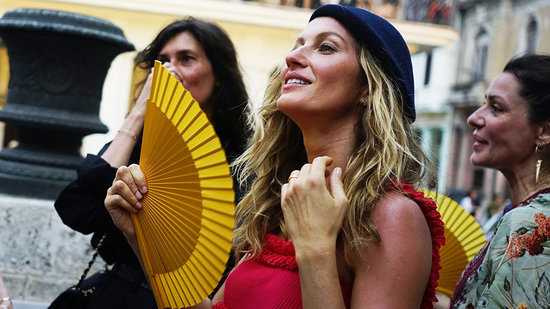 Gisele Bundchen Travels to Cuba, Attends Chanel Fashion Show