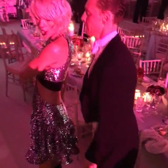 Taylor Swift Had a Super Glam Dance-Off with Tom Hiddleston at the Met Gala
