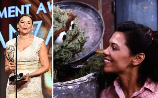 "Maria From ""Sesame Street"" Had A Powerful Message For Young Latinxs On The Emmys Red Carpet"