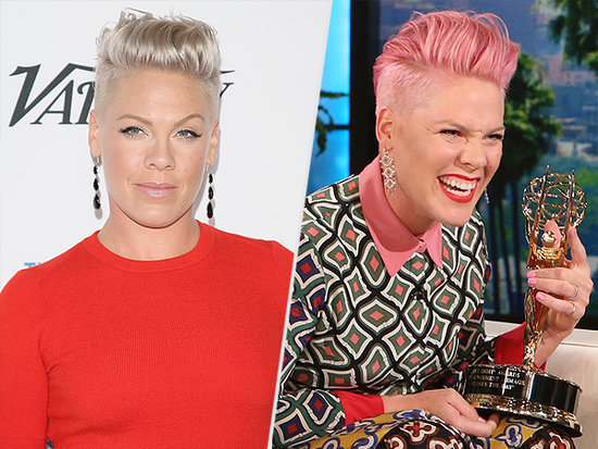 Hot Pink! The Singer Lives Up to Her Name with a New Hair Color Update