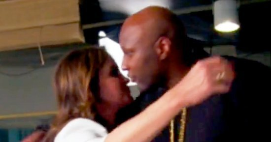 Lamar Odom Was 'Nervous' to Meet Caitlyn Jenner for the First Time