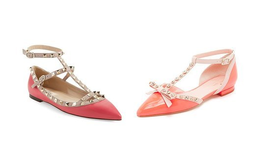 Kate Spade Made Flats That Look Like Rockstuds, But For 1/3 Of The Price