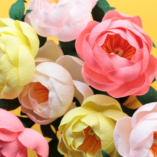 Mother's Day DIY Paper Peonies