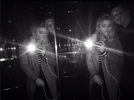 Solemates! Brooklyn Beckham and Chloë Grace Moretz Make It Really Official with Matching Shoe Selfie
