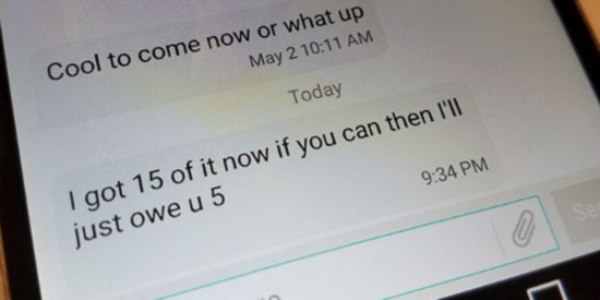 Police: Please Stop Calling Or Texting This Alleged Drug Dealer's Cell Phone