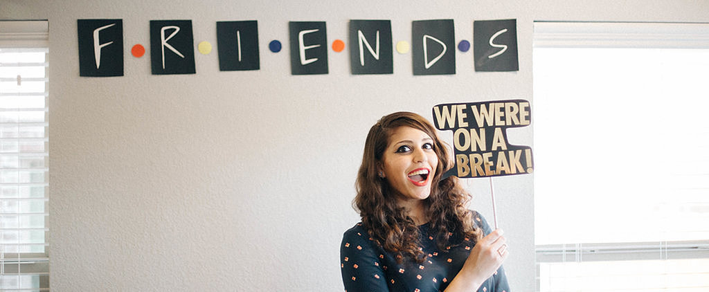 We're Pretty Sure the Entire Cast of Friends Would Approve of This Bride's Themed Shower