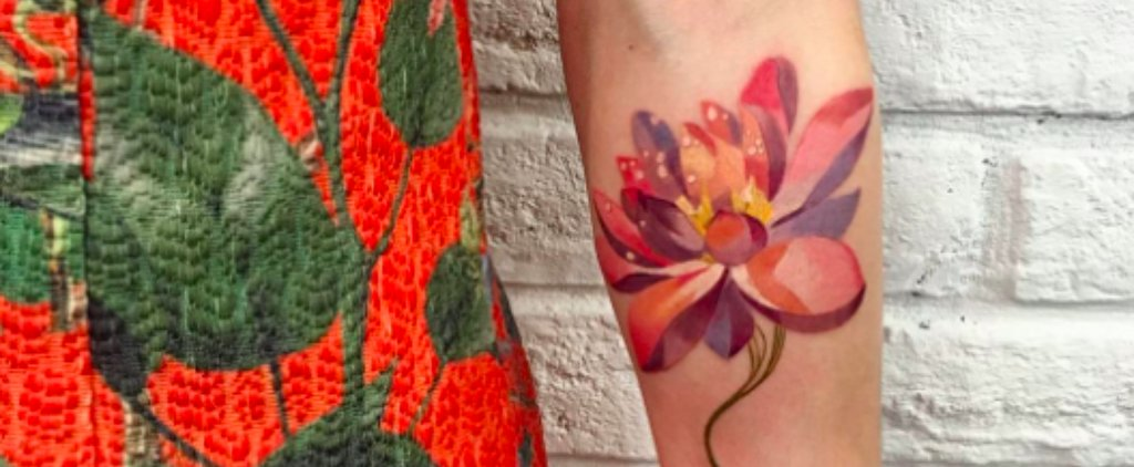 What 1 Tattoo Artist Does With Plants Will Blow Your Mind