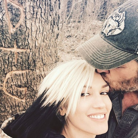 Cute Gwen Stefani and Blake Shelton Pictures