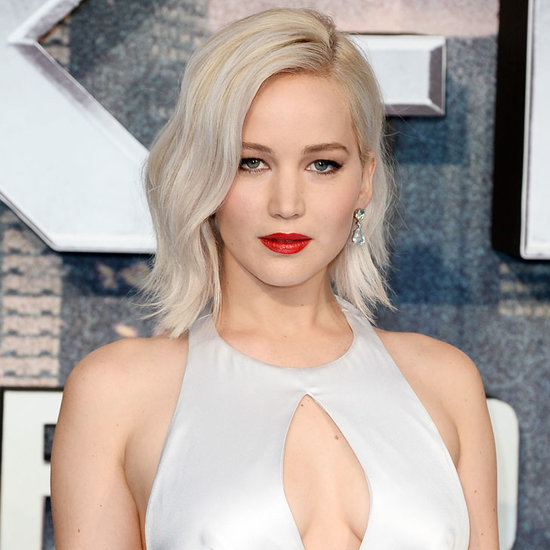 Jennifer Lawrence on X-Men Apocalypse Red Carpet May 2016