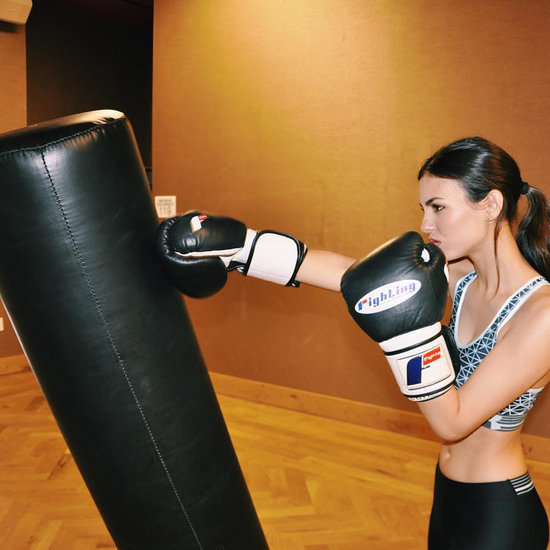 Latina Celebrities Boxing