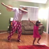 This Daddy-Daughter Dance in Which They're Completely Deadpan Is Going to Make Your Day