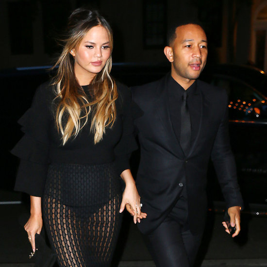 Chrissy Teigen and John Legend Out With Baby Luna May 2016