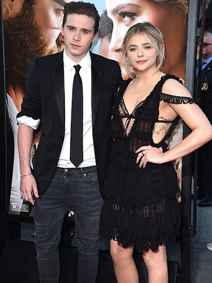 Brooklyn Beckham and Chloë Grace Moretz Make Red Carpet Debut as a Couple at Neighbors 2: Sorority Rising Premier