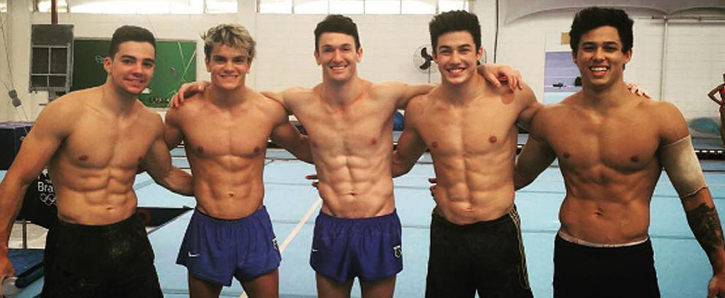 You'll Flip For the Face-Meltingly Hot Men of Brazil's Gymnastics Team