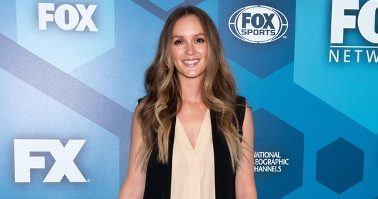 Leighton Meester Returns to the Red Carpet for the First Time Since Having a Baby