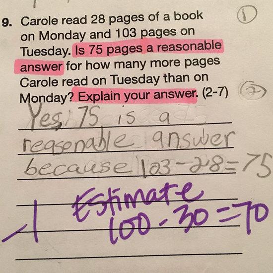 Math Homework Assignments Kids Hate