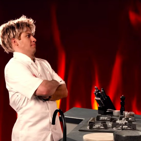 Gordon Ramsay and Julia Child's Rap Battle