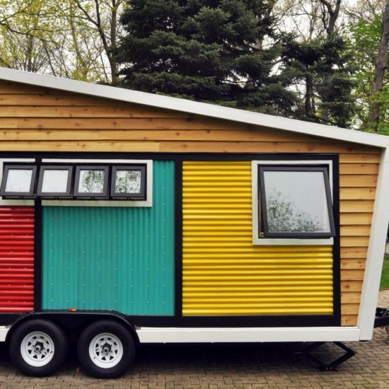 13 Adorable Tiny Homes on Wheels