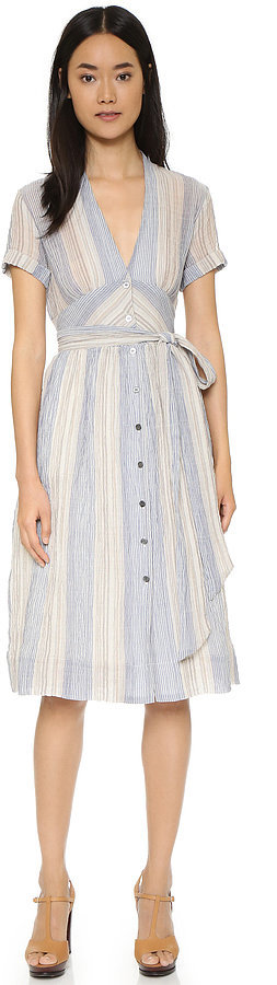 Sea Tie Belted Dress ($415)