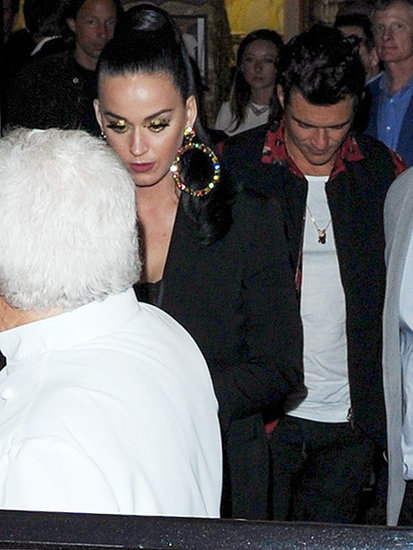 Katy Perry and Orlando Bloom Continues Their Glam Cannes Getaway with Romantic Dinner Date