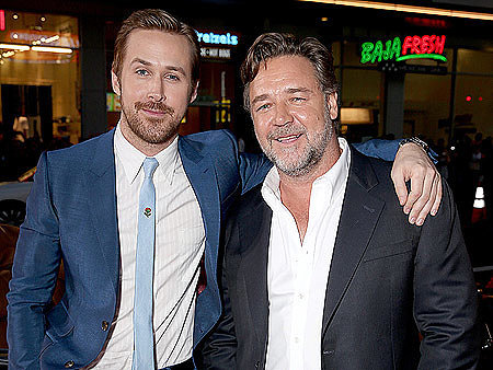 WATCH: Ryan Gosling and Russell Crowe Jokingly Reveal the Violent Beginnings of Their Relationship