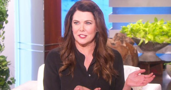 Lauren Graham Discusses New 'Gilmore Girls' Inspired Book 'Talking as Fast as I Can' on 'Ellen'