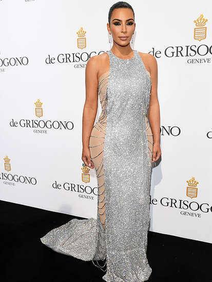 Kim's Kouture Hacks! Kim Kardashian Reveals She Dyed Her Cannes Dress with Tea Bags