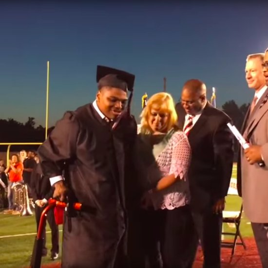 Student With Cerebral Palsy Walks For First Time