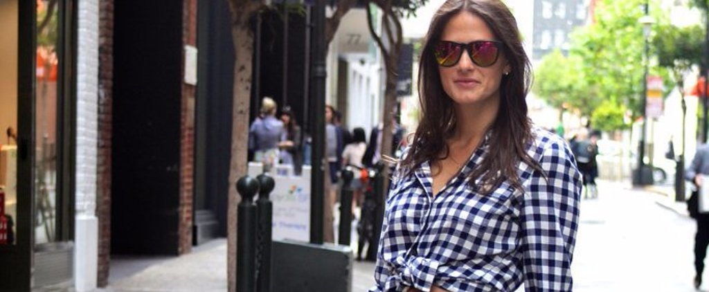 How to Add Some Edge to Your Gingham This Spring
